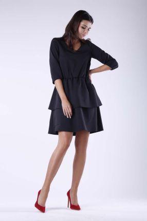 f4f703f1f9 195-3 ALICE Sukienka z kokardkami - BORDOWA - Ceny i opinie - Ceneo.pl