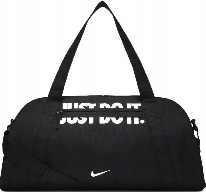 e95d6884f2e57 Allegro. Torba Sportowa Nike BA5490-016 Just Do It Czarna - zdjęcie 1