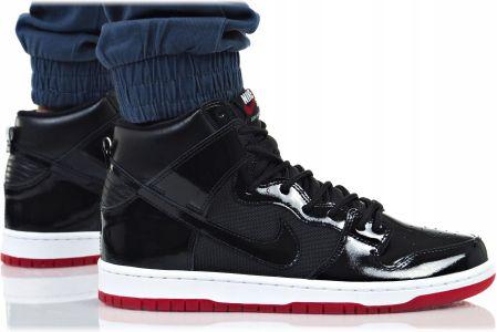 bc413079 Męskie buty do skateboardingu Nike SB Dunk High Pro NBA - Czerń ...