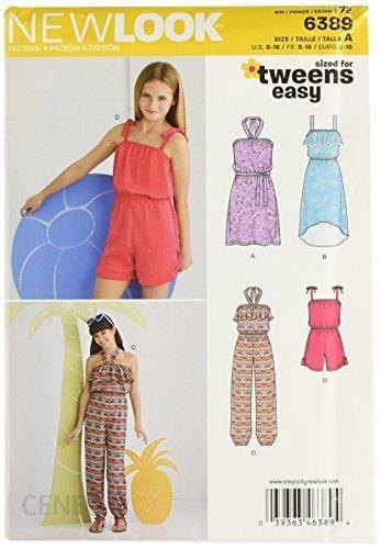 2e9af17d4c Amazon New Look nl6389 wykrój do sukienka Shorty Kombi-spodni
