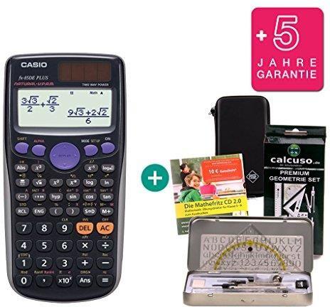 Casio FX-85 DE Plus Schutztasche