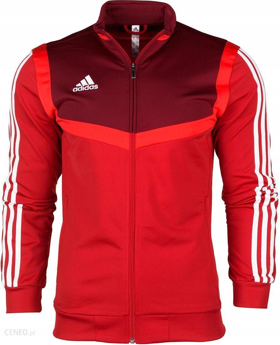 Bluza męska adidas Core 18 Training Top czerwona CV3999