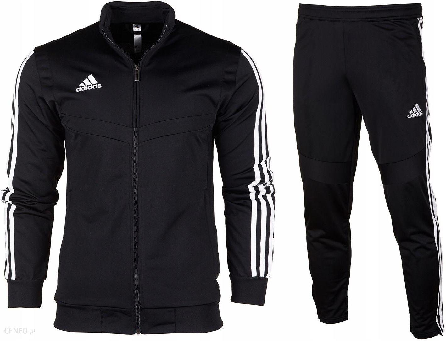 sprzedaż hurtowa całkiem fajne świetna jakość Adidas dres komplet męski spodnie bluza Tiro19 M