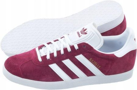 finest selection 4dee5 c2c64 Buty Męskie Sportowe adidas Gazelle B41645 Bordowe Allegro