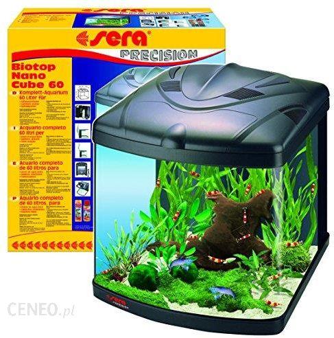 Amazon Sera 31102 Biotop Nano Cube 60 Jest 60l Słodkowodna Akwarium W Całości Z Pl T5 Oświetlenie I Filtracja Ceneopl