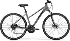 Merida Crossway 100 Lady Dark Silver Red Black 2019