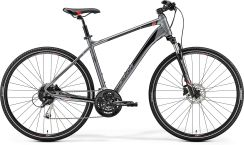 Merida Crossway 100 Dark Silver Red Black 2019