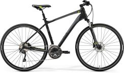 Merida Crossway 300 Matt Black Green 2019