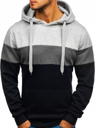 bluza męska z kapturem czarna tc826 rozmiar_xl