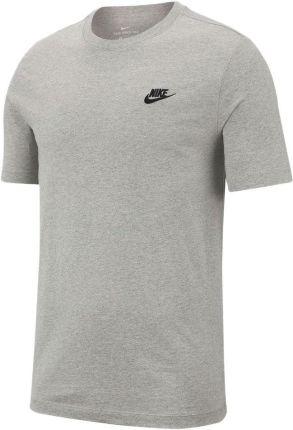 072624a18656de Koszulka męska Sportswear Club Nike (jasna szarość melanżowa/czerń)