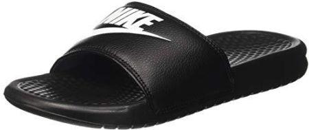 pretty nice 247ec 98959 Amazon Nike Benassi Jdi klapki męskie - czarny - 32 EU
