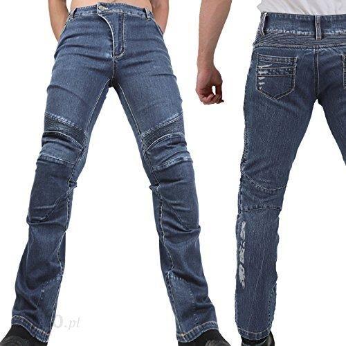 54c2b833f15b76 Amazon Lekkie cienkie dżinsy spodnie – Ranger-dżinsy męskie lato tekstyliów  na motor Slim Fit