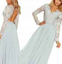 3fd07dcf3e Sukienka suknia wieczorowa koronka długa NUMOCO XL