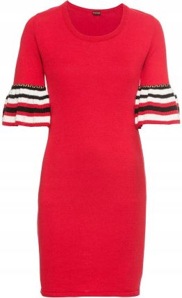 6bbd7a208f Sukienka dzianinowa czerwony 32 34 Xxs xs 919971 - Ceny i opinie ...