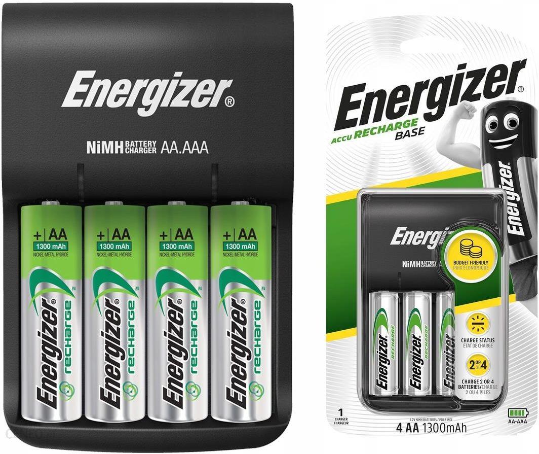 Energizer Ładowarka Base + 4 szt. akumulatorków AA (EN421422)