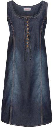 4021541c83 Sukienka dżinsowa niebieski 40 L 914763 bonprix - Ceny i opinie ...