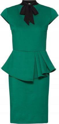 228cdb4ba9 Sukienka biznesowa zielony 44 46 XXL 3XL 960050 - Ceny i opinie ...
