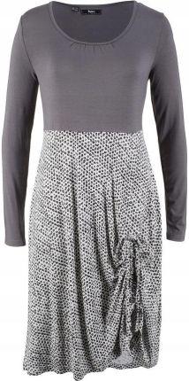 57600ba2d Sukienka shirtowa z długi szary 40/42 L/XL 925297 Allegro