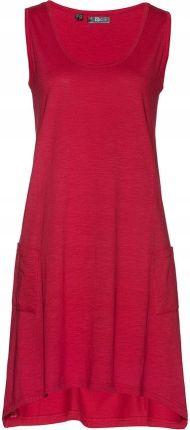 bb3ded171b 216-3 EMMA elegancka ołówkowa sukienka z koronką - BORDOWA XL - Ceny ...
