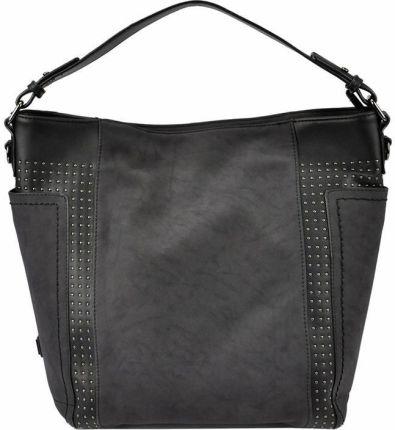 2a1a07557f251 Bordowa miękka torebka z wieloma kieszonkami - bordowy - Ceny i ...