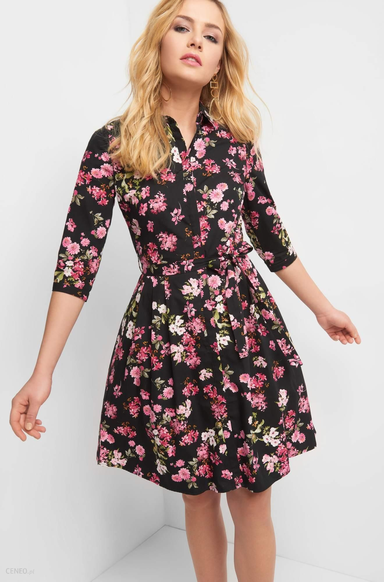 c2ac273bb7 ORSAY Rozkloszowana sukienka w kwiaty - Ceny i opinie - Ceneo.pl