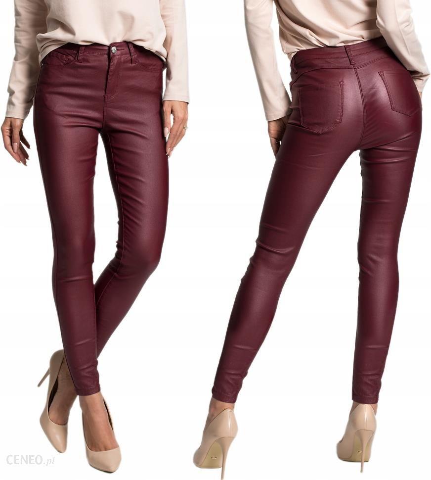 b8193f87d5 Spodnie a la skóra slim fit efekt Push Up F43 L - Ceny i opinie ...