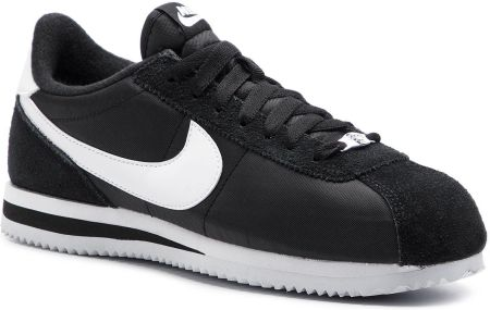 Buty NIKE - Cortez Basic Nylon 819720 011 Black/White/Metallic Silver