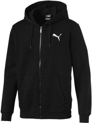 0cf27c6119c78 Bluza męska z kapturem Essential Full Zip Hoody Puma (black)