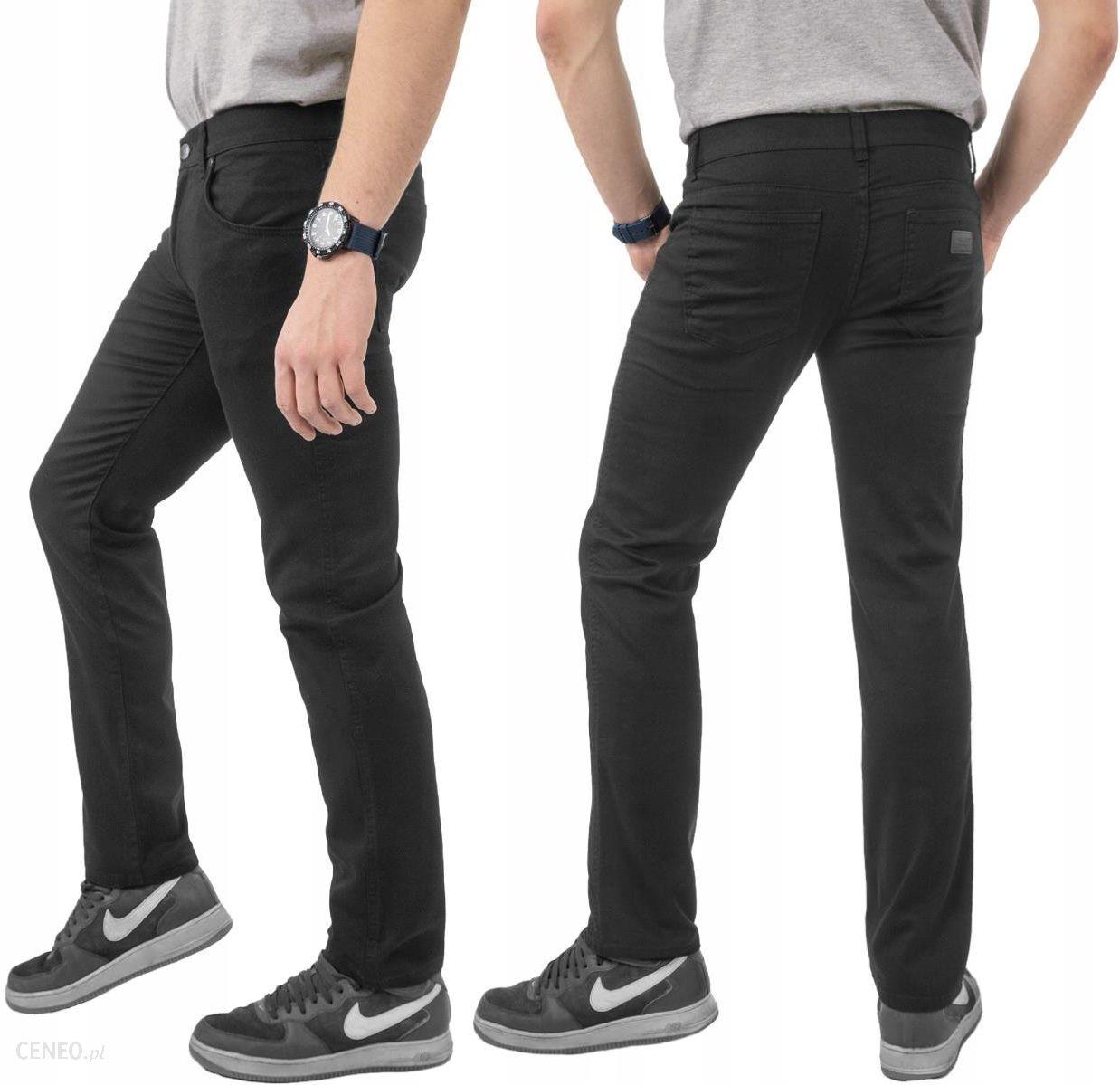 8c9edd78 Czarne Spodnie Męskie Jeans Hunter 110/8 120 cm/32 - Ceny i opinie -  Ceneo.pl