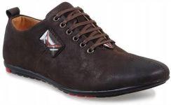 918af418e99ee Brązowe męskie półbuty casual buty WF923-3 43 - Ceny i opinie - Ceneo.pl