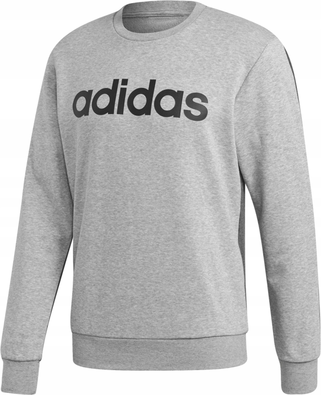 Bluza męska adidas Linear PO FT szara S98775