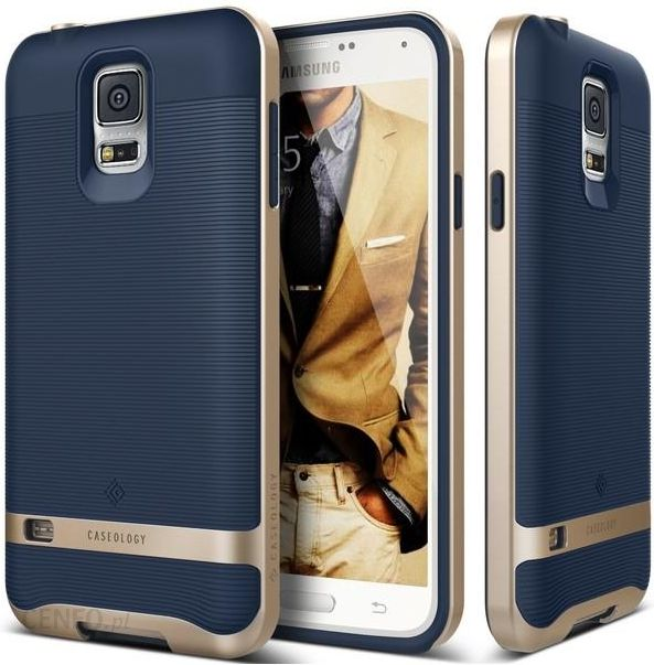 check out e99e0 0d6dc CASEOLOGY ETUI SAMSUNG GALAXY / S5 NEO WAVELENGHT NAVY BLUE