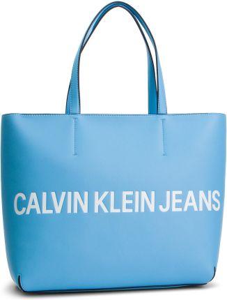 17833086a21c3 Torebka CALVIN KLEIN JEANS - Sculpted Logo E/W Tote K60K605246 445 eobuwie