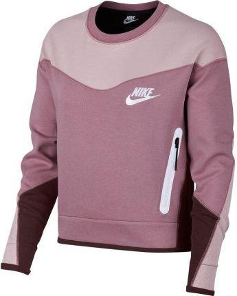 bb244b3cf Bluza damska Sportswear Tech Fleece Nike (plum dust/chalk/black)