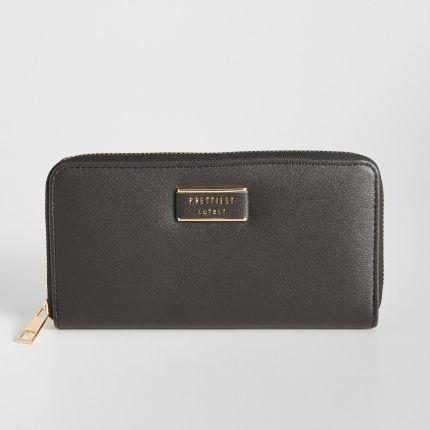 13c2b36dad7cf Sinsay - Czarny ażurowy portfel - Czarny - damska - Ceny i opinie ...