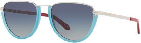 c9bc50a9eb Okulary Przeciwsłoneczne Burberry BE 3098 10054L - SILVER MATTE AZURE