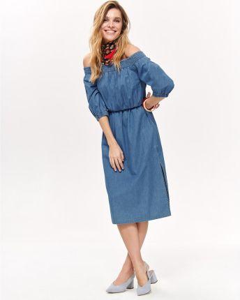 0071223f89 PtakModa - Tiulowa sukienka z obniżonym stanem NORBI - Ceny i opinie ...