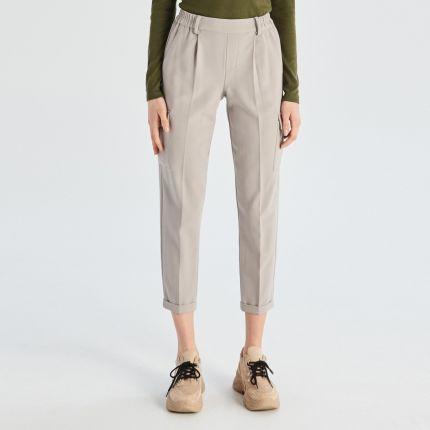 0ec3c68e81f6f Cropp - Spodnie typu jogger moro - Zielony - damski - Ceny i opinie ...