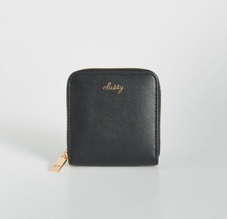 5782dd6eda06f Mohito - Mały portfel ze strukturalną powierzchnią - Czarny - Ceny i ...