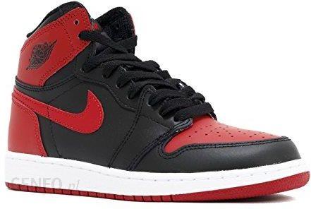 coupon codes good out x popular stores Amazon Nike chłopcy Air Jordan 1 retro High og BG buty do koszykówki -  czarny - 37.5 EU - Ceneo.pl