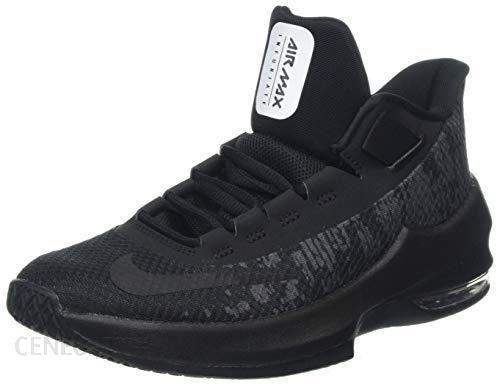 e27a3e424e340 Amazon Nike Air Max Infuriate 2 Mid (GS) wysokie buty sportowe, uniseks -  czarny - 36.5 EU