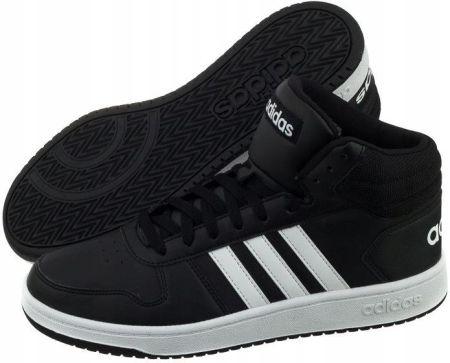 best loved 4a2d9 7cd01 Buty Męskie adidas Hoops 2.0 Mid BB7207 Czarne Allegro