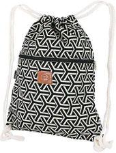 682fa6f976bb0 Amazon ♡ T-BAGS Tajlandia bawełniany worek gimnastyczny Hipster – z zamkiem  błyskawicznym – 24 wzory – wysokiej jakości worek plecak torba gimnastyczn