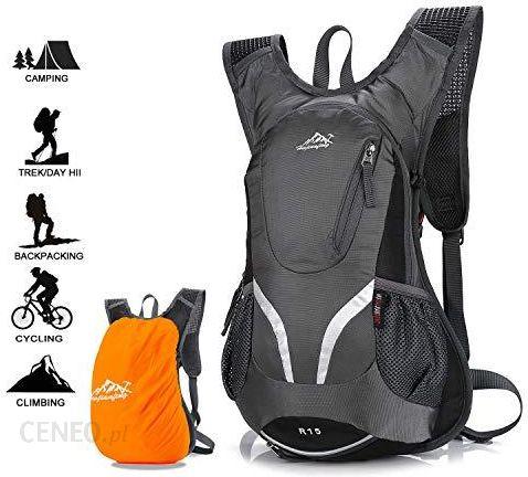999ecadede411 Amazon Hwjianfeng plecak rowerowy, wodoszczelny, oddychający worek rowerowy  z ochroną przed deszczem, 15