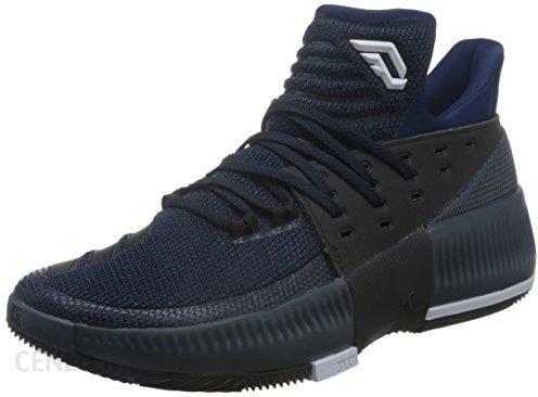 Buty Do Koszykówki Adidas Dame 3 Damian Lillard BiałyCzarny