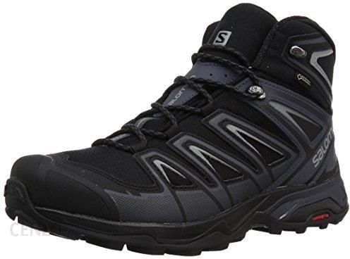 Amazon Salomon Men's X Ultra 3 Wide Mid GTX Trail running Shoe, Black, 10 m US Ceneo.pl