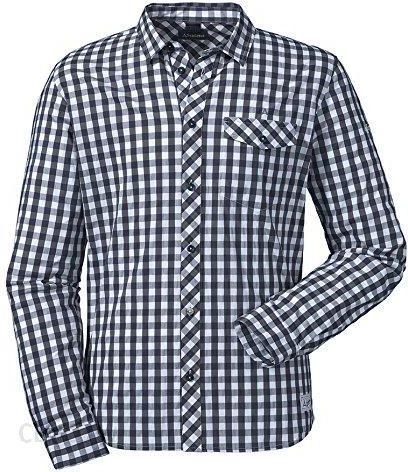 Amazon Schöffel Męska koszulka Miesbach1 Koszulka, Blu Di  RlHln