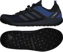 42979fd245b4a Amazon Adidas buty TERREX Swift Solo Approach - niebieski - 44 2/3 EU