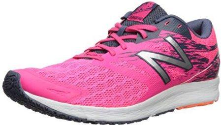 0e481734 Amazon New Balance damskie buty Flash LEKKOATLETYKA - różowy - 37.5 EU