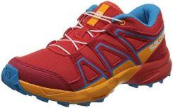 Salomon Speedcross 4 buty męskie do biegania w terenie szary 45 13 EU granatowy Amazon